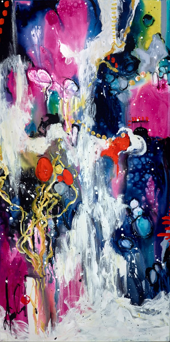 Arrival of Joy by danielle o'connor akiyama -  sized 30x60 inches. Available from Whitewall Galleries